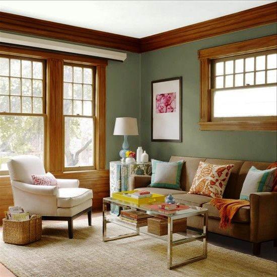 Kombinasi Warna Cat Ruang Tamu Klasik yang Sejuk