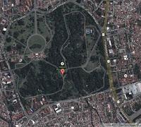 peta lokasi kebun raya bogor