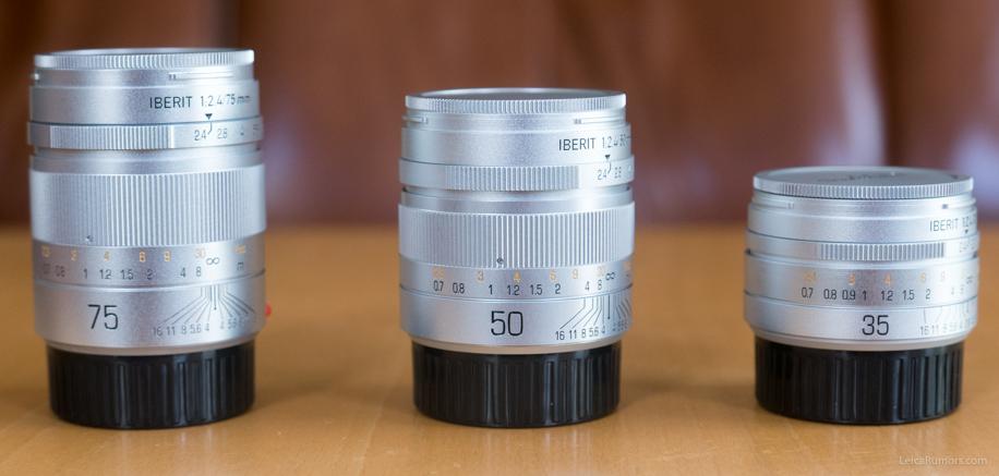 Handevision Iberit 35mm f/2.4, 50mm f/2.5 и 75mm f/2.4