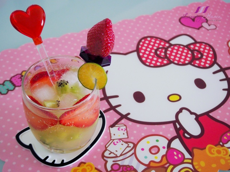 hello kitty strawberry lime soda recipe purelyfresh giveaway