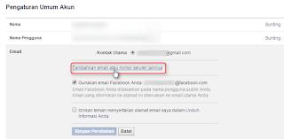 Cara,Mengganti,Email,Di,Facebook,inisiteku