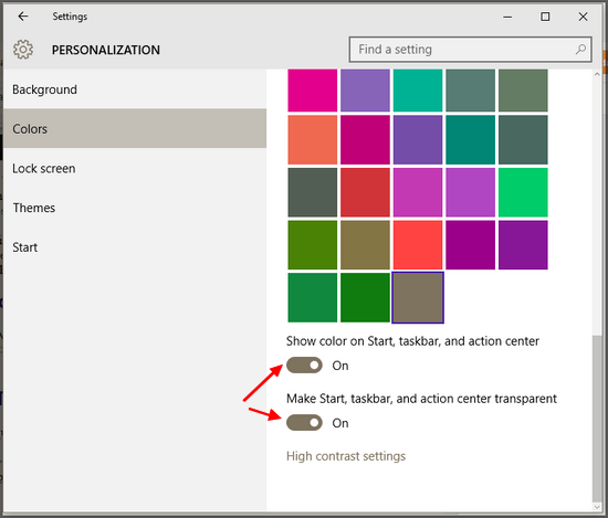 make-start-task-bar-action-center-transparent