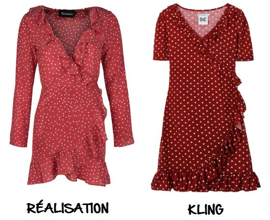 Clon vestido dress Réalisation Kling