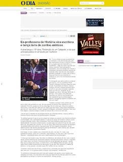 Entrevista de Nana Pauvolih para o Jornal O Dia