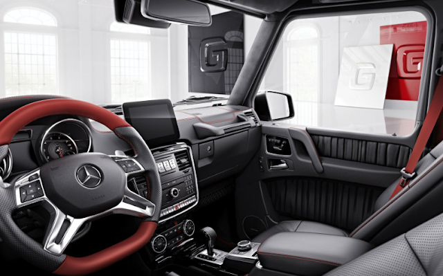 Two New Special Mercedes-Benz G-Class Models Unveiled Interior
