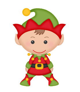 elves of the helping santa clip art oh my fiesta  in free clipart christmas invitations Free Christmas Border Clip Art
