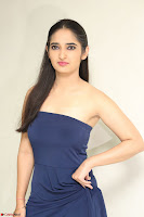 Radhika Mehrotra in sleevless Strap less Blue Gown At Prema Entha Madhuram Priyuraalu Antha Katinam Movie Interview ~  Exclusive 052.JPG