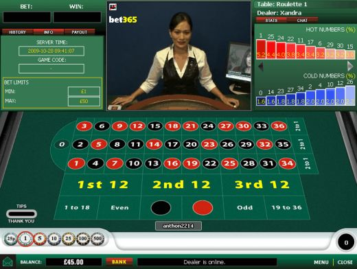 Roulette online sono truccate