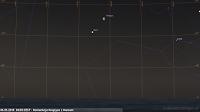 06.05.2018  04:05 CEST - Koniunkcja Księżyca z Marsem