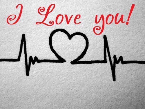 I love you, my love.