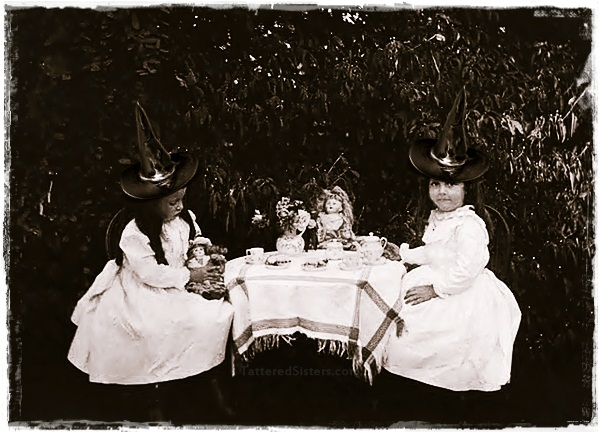 Little Witches Tea Party Photo