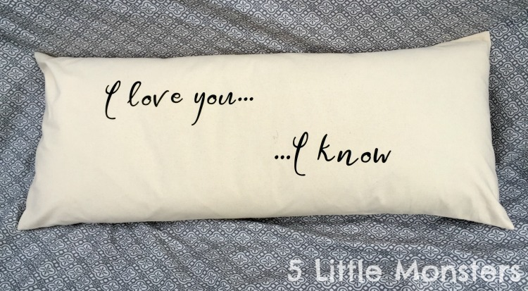 5 Little Monsters Extra Long Star Wars Pillow