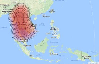 Satelit Thaicom 5 78.5°E KUBand