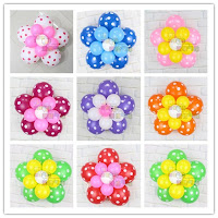 Balon dekorasi bunga