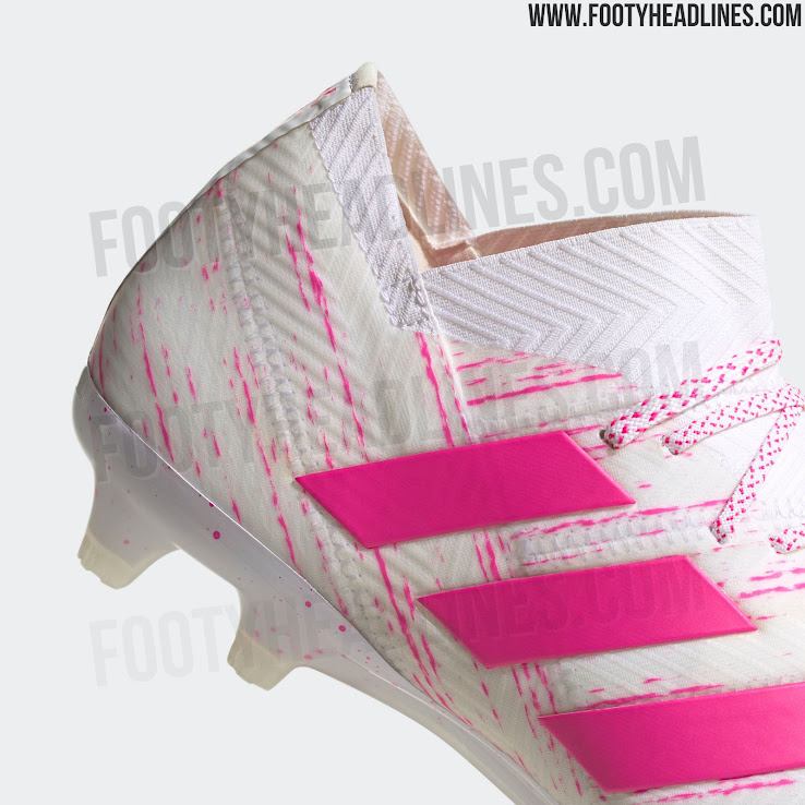 ladrar Descenso repentino virar  OFFICIAL Pictures: White / Pink Adidas Nemeziz 'Virtuso Pack' 2019 Boots  Leaked - Footy Headlines
