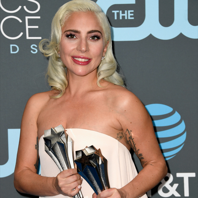 Lady Gaga Wins 'Best Song' & 'Best Actress' at 24th Critics' Choice Awards