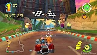 Crash Bandicoot - Gacchanko World PSP Game Without Emulator