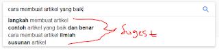 Google Search auto suggestion