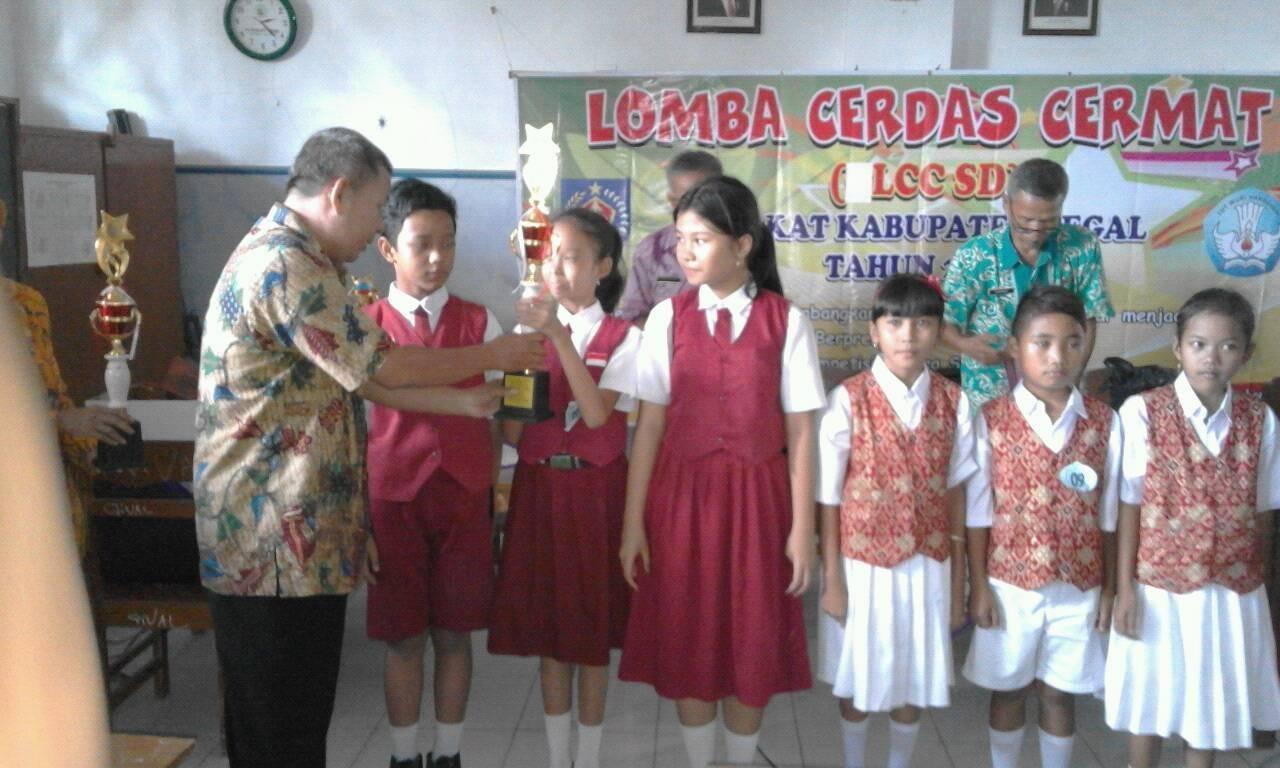Sd N Pangkah 01 Kab Tegal Lomba Lcc Sd Tingkat Kabupaten Tegal Tahun 2016