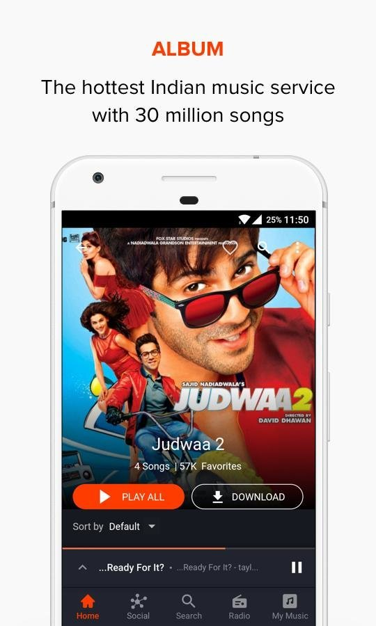 Gaana Music: Bollywood Songs & Radio v7 8 2 Premium MOD APK