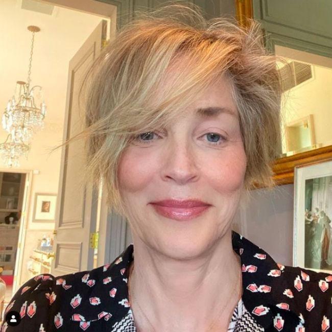 Sharon Stone: imperfecta y espectacular, sin maquillaje ni filtros