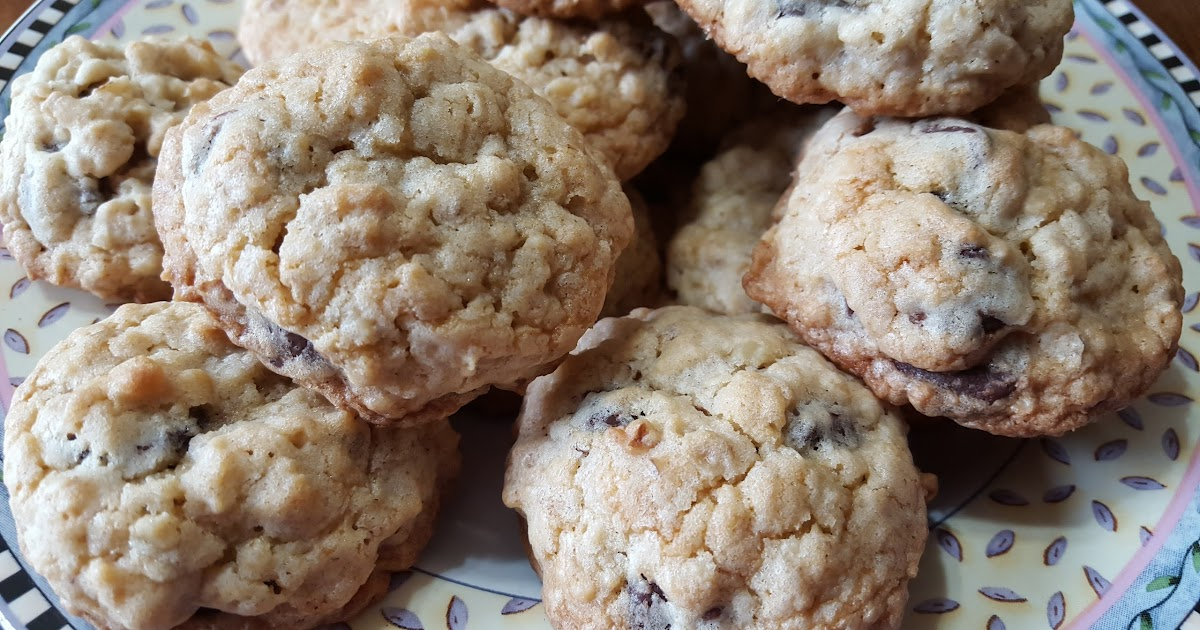 My Patchwork Quilt Oatmeal Chocolate Chip Cookies