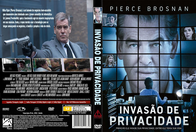 Capa DVD Invasão De Privacidade