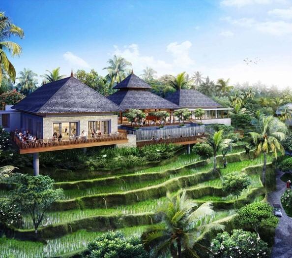 Villa Mewah di Ubud Bali dengan Pemandangan Terbaik dan Anganku Tentangnya