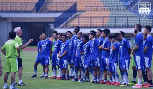 Lawan Bhayangkara FC, Persib Bandung Siapkan Skema Tanpa Lima Pemain Pilar