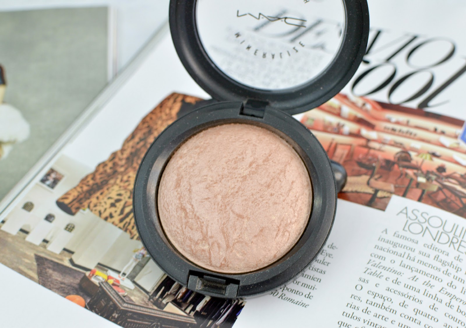 MAC Soft and Gentle, MAC Highlighter, MAC Mineralize Skinfinish