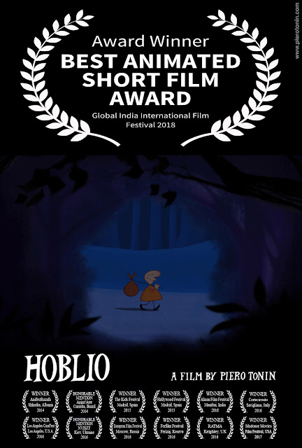 HOBLIO Best Animated Short at Global India International Film Festival