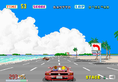 Out run arcade game portable descargar gratis