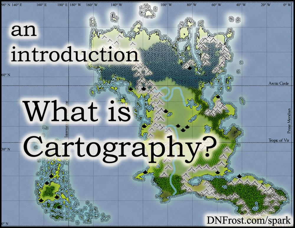 What is Cartography? An introduction to the art of fictional map-making http://www.dnfrost.com/2017/06/what-is-cartography.html #TotKW Inspiration and spark by D.N.Frost @DNFrost13 Part of a series.
