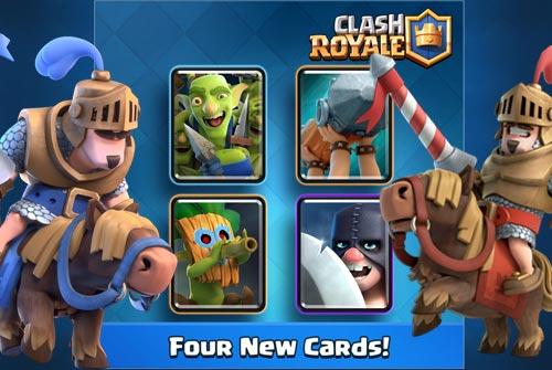 4 Kartu Baru Clash Royale Update Januari 2017 Jungle Arena