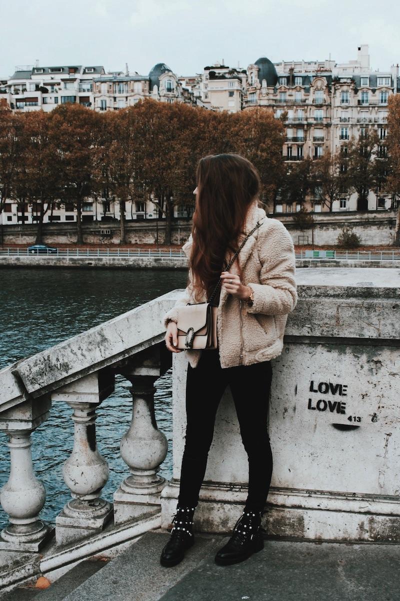 blouson mouton paris octobre 2017 blog mode