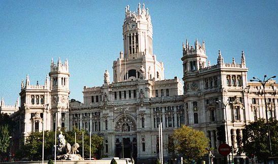 Cosas De Los Madriles Palacio De Cibeles Una Historia De