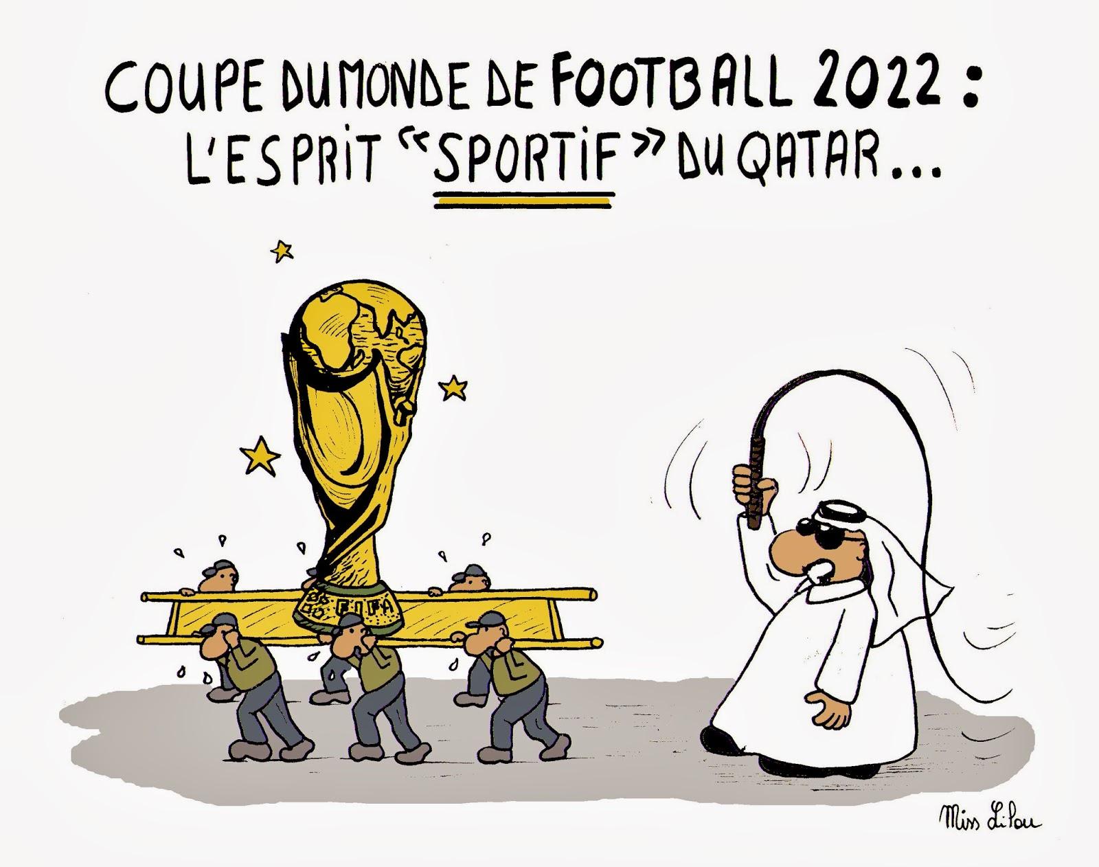 Acturatons football mondial 2022 de l 39 esclavage au qatar - Qatar football coupe du monde ...