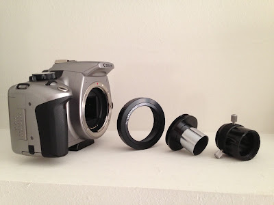 canon telescope prime focus adapter pieces