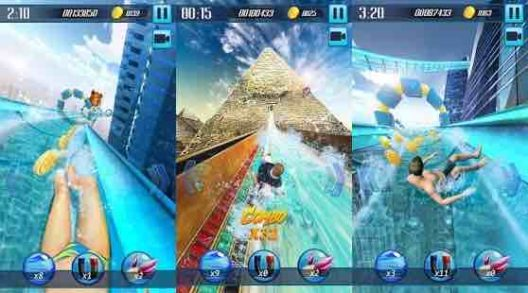 Water Slide 3D v1.10 Mod Apk Unlimited Money Terbaru