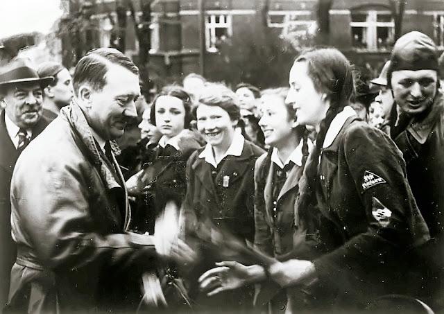 KDF Girls Hitler German Maidens worldwartwo.filminspector.com