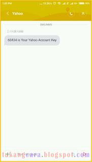 cara daftar email yahoo lewat hp