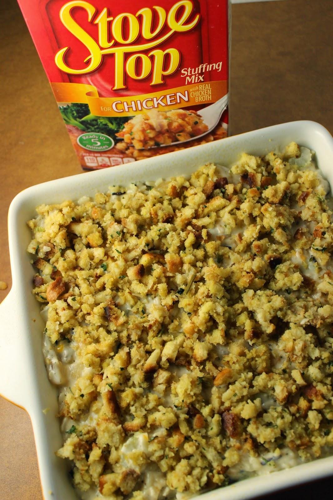 I Dig Pinterest Creamy Chicken Amp Wild Rice Casserole