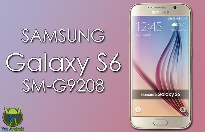 G9208ZMU2DQB1 | Galaxy S6 SM-G9208