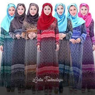 Model Baju Kebaya Muslim Pesta Terbaru 2018
