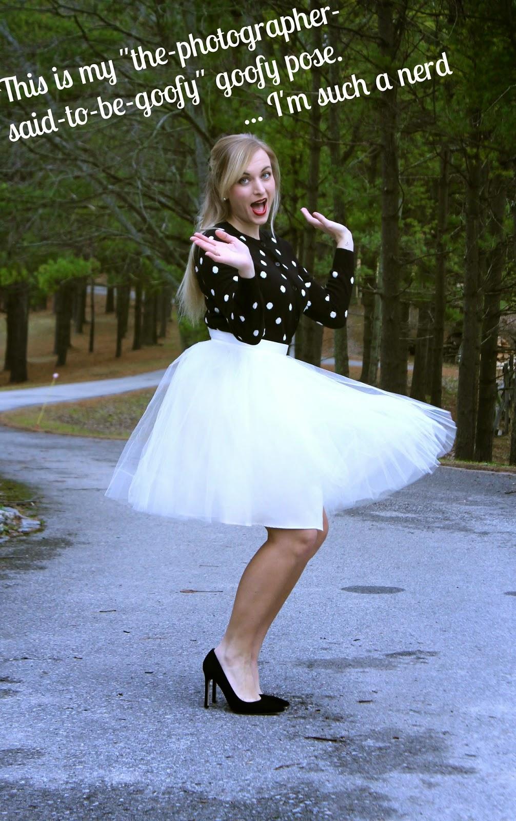 how to wear a tutu skirt