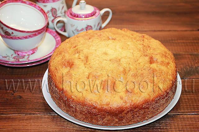 рецепт простого творожного пирога с пошаговыми фото