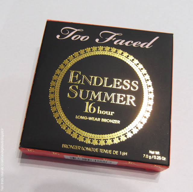 TOO FACED : Bronzer EndLess Summer 16h.