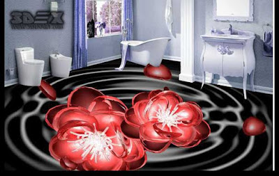 3D tile images 3d bathroom floor tile designs