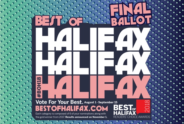 Best of Halifax 2018
