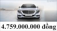 Bảng thông số kỹ thuật Mercedes S450 L Luxury